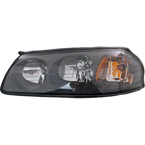 Evan-Fischer EVA13572014384 Headlight Composite Clear Lens Halogen With Bulb(s) Driver (Driver Side Headlight)