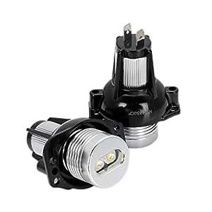 Vkospy 2pcs / lámparas LED Kit Anillo de luz Luces del Coche ...