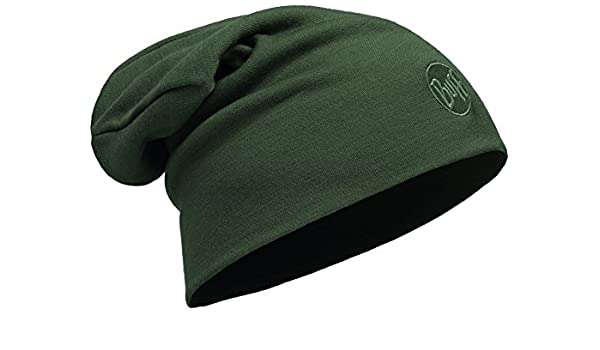 Amazon.com  Buff Solid Forest Night - Heavyweight Merino Wool Hat - Adult  Sized  Clothing d35ce1e7f09a