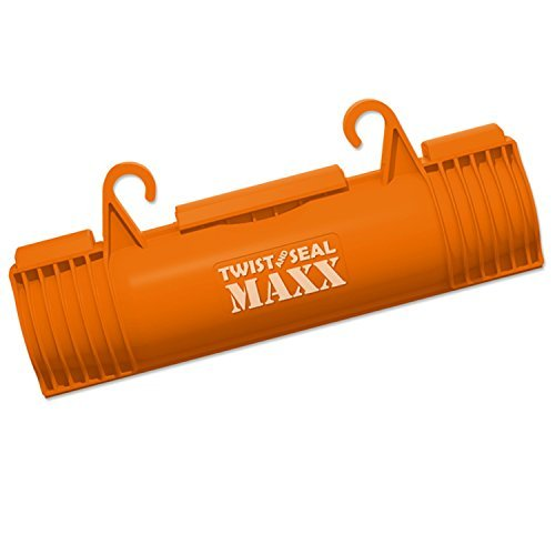 - Twist and Seal Maxx (2 Pack) - Heavy Duty Extension Cord Protection - Orange