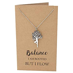 Yoga Jewelry with Greeting Card