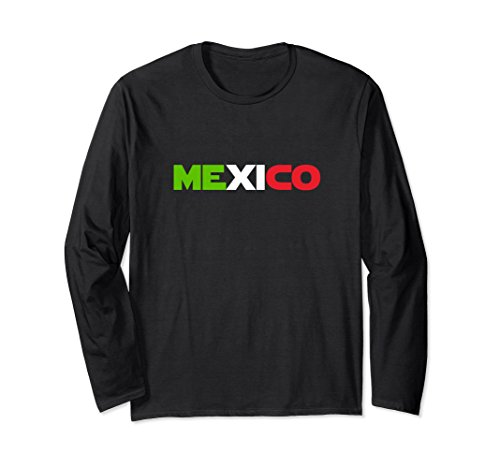 Unisex Funny Mexico Flag Soccer Cup Galactic Space Gift T-Shirt XL: Black