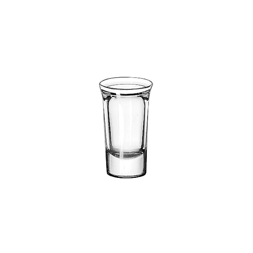 Libbey 5033 Whiskey Service 1 Ounce Tall Whiskey Glass - 72 / CS