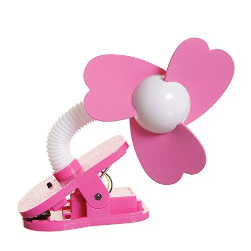 Stolen Turners - Dreambaby Stroller Fan - White/Pink