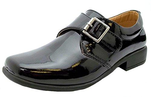 f枚rmlichen schwarz synthetischen Rsb M枚nch Gr枚脽e Schuhe EU Schwarz Boy's 36 p6pAqxt
