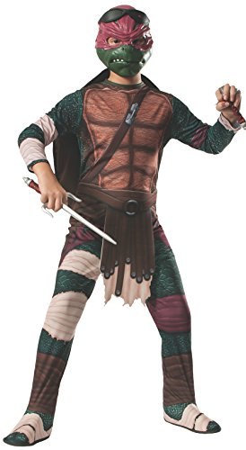 Ninja Turtles Raphael Costumes (Rubies Teenage Mutant Ninja Turtles Child Raphael Costume, Medium)