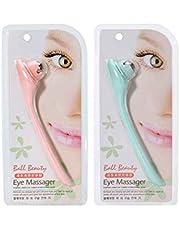 Lorjoy Manual de Rodillo masajeador de Ojos Eye Roller Pluma del Ojo del Massager Anti Arruga del Ojo de Masaje de la Herramienta Color al Azar