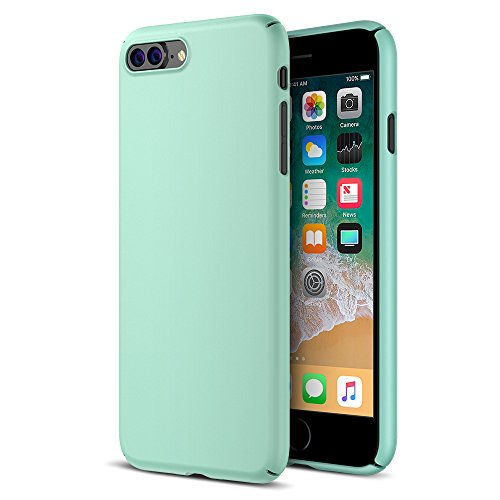 Maxboost iPhone 8 Plus Case, mSnap Apple iPhone 8 Plus / iPhone 7 Plus [Perfect Fit] [Mint] EXTREME Smooth Surface [Scratch Resistant] Matte Coating for Excellent Grip Thin Hard Protective PC Cover