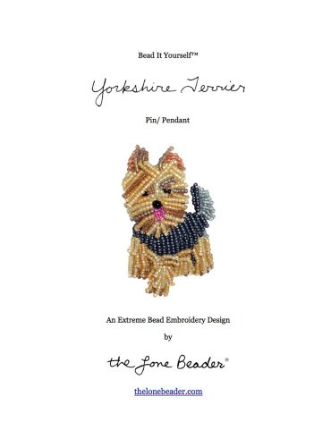 Bead It Yourself - Yorkshire Terrier Pin or Pendant (Beaded Dogs Book 3) ()