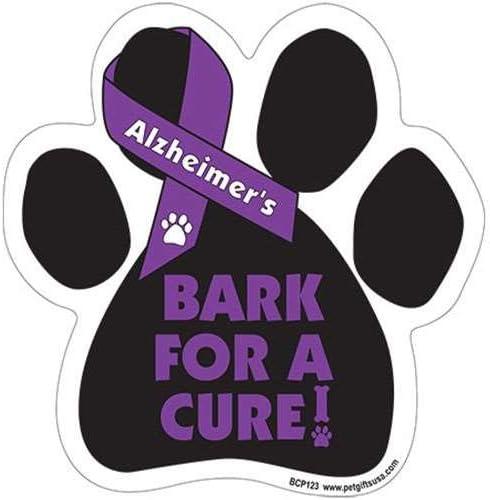 ALZHEIMERS Disease Awareness Car Truck /& Mailbox Magnet Bark For A Cure