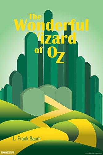 The Wonderful Wizard of Oz L Frank Baum Emerald City Art Print Poster