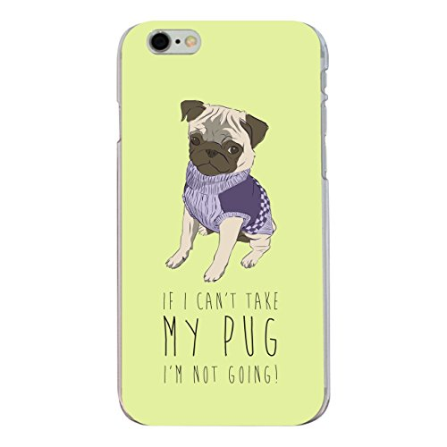 "Disagu SF-sdi-3841_1166#zub_cc5763 Design Schutzhülle für Apple iPhone 6 Plus - Motiv ""Take my pug"""