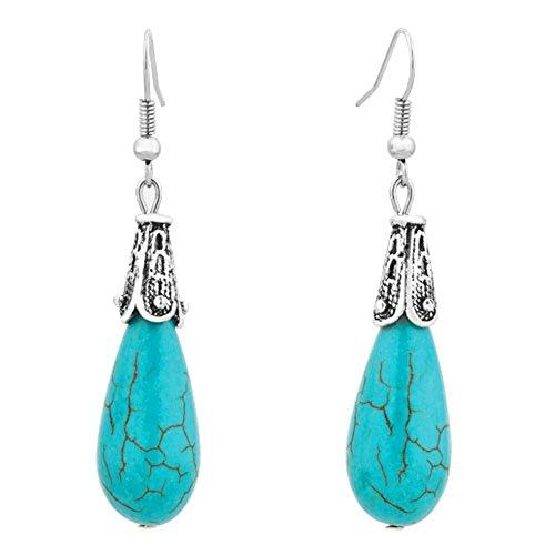 CharmsStory Turquoise Earrings Dangle Earring