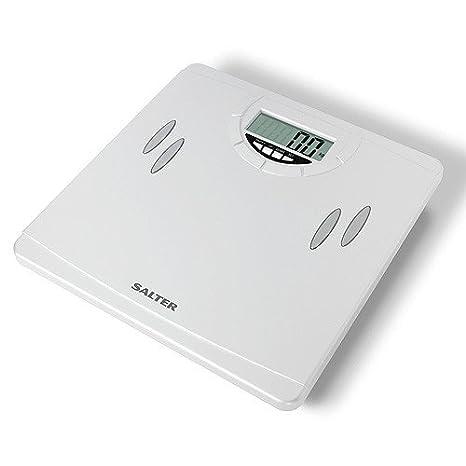 Salter 9139 WH3R - Báscula compacta analizadora, báscula de baño, color blanco: Amazon.es: Salud y cuidado personal