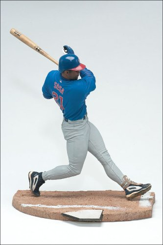 1 Sports Pick Mcfarlane Baseball (McFarlane Toys MLB Sports Picks Series 1 Action Figure Sammy Sosa (Chicago Cubs) Blue Jersey)