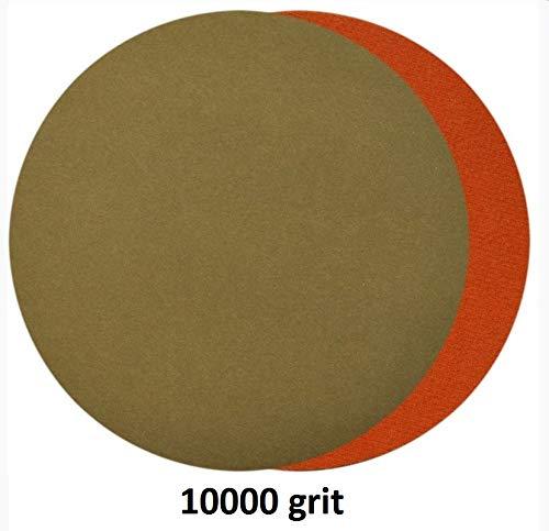20pcs Hook and Loop 3 Inch 3000 5000 7000 10000 Grit Sand Paper Sanding Discs