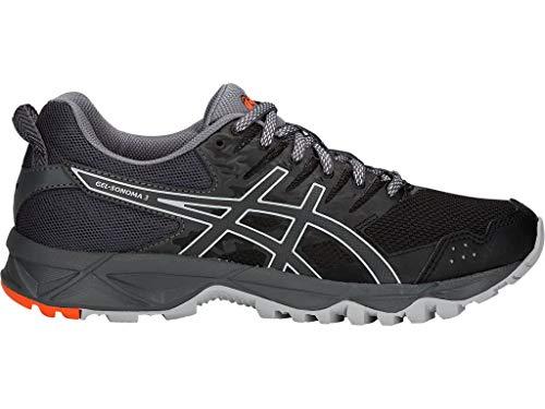 ASICS Women's Gel-Sonoma 3 Running Shoes, 10.5M, Black/Dark Grey ()