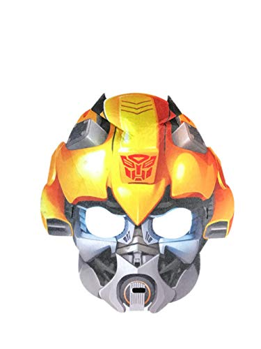 Nuoka Halloween Costume Bumblebee Voice Changer Child Mask for Party (Style B) ()