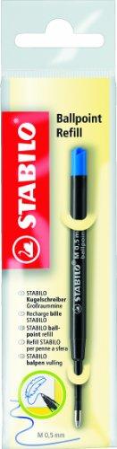 STABILO Kugelschreibermine 10er Packung blau (z.B. für COM4ball, EASYball und SMARTball)
