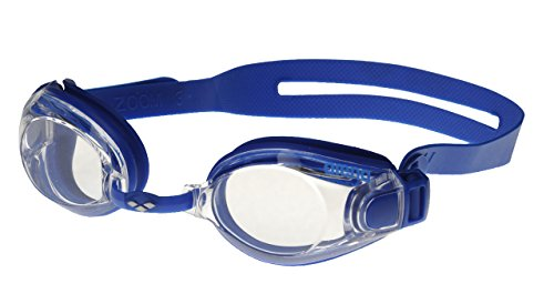 Arena Zoom x-fit Goggles, Adultos Unisex, Clear-Blue, TU