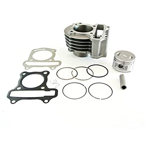JRL 139QMB 100cc Big Bore Cylinder Kit Fits GY6 50MM 4 Cycle Chinese  Scooter Upgrade