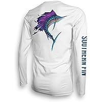 Long Sleeve Fishing T-Shirt for Men and Women, UPF 50...