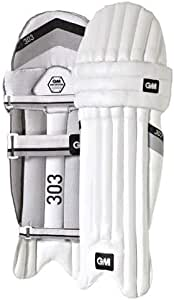 Gunn & Moore UC50271307 303 Cricket Batting Pads, Black