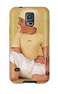 Rugged Skin Case Cover For Galaxy S5- Eco-friendly Packaging(cute Kids) wangjiang maoyi