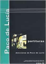 PACO DE LUCIA - Antologia 4º: Almoraima para Guitarra Tab: Amazon ...