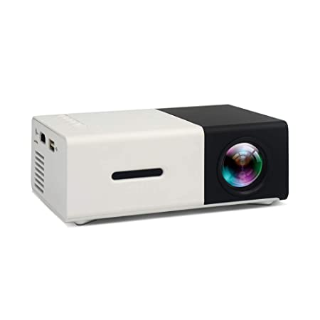 TIAN Mini Portátil Película Gaming Proyector, Multimedia ...