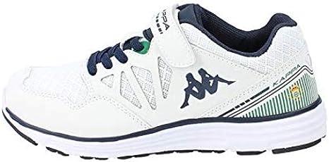 Kappa SPANDER Man Zapatillas de Deporte, Hombre, Blanco (Blanco 900), 44 EU: Amazon.es: Deportes y aire libre