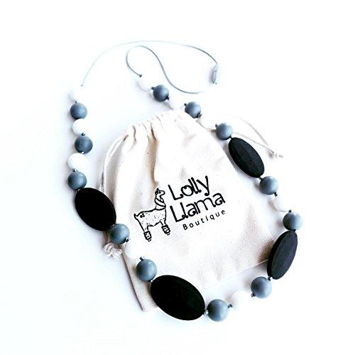 Amazon.com: Collar de dentición para madres por Lolly llama ...