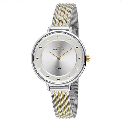Reloj Mujer, Acero Bicolor, con Correa de Maya Acero Bicolor ...