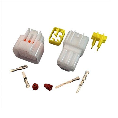 yazaki sōgyō 10 Sets Kit 6 Pin Way wasserdicht Elektrische Kabel ...