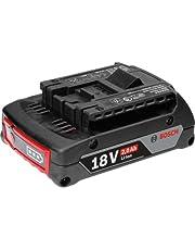 Bosch Professional GBA 18 V 2,0 Ah M-B Akku, 1600Z00036