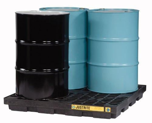 (Justrite 28657 EcoPolyBlend 49 Gallon Sump, 49