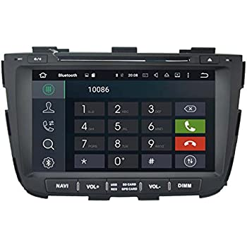 Autosion Android 8.1 Cortex A9 1.6G Car DVD Player GPS Stereo Head Unit Navi Radio Multimedia WiFi for Kia Sorento XM 2013 2014 2015 Support Steering Wheel ...