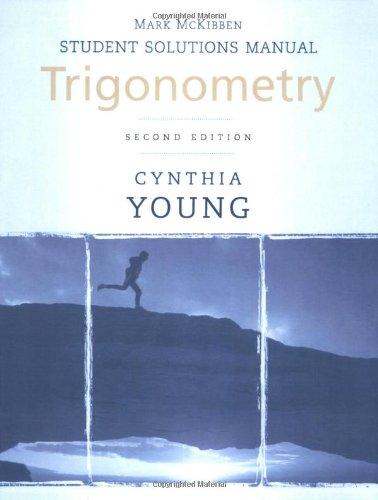 Trigonometry, Student Solutions Manual