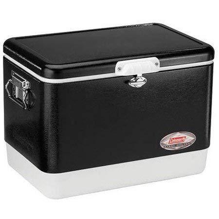Coleman Steel-Belted Portable 54 Quart Cooler - (1 Pack,Black)