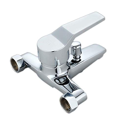 HYLH Concealed Shower Faucet Bathroom Wall Mounted Mixer Tub Water Tap Cold and Hot Water Faucet Mixing Valve Thickened Copper Antifreeze ()