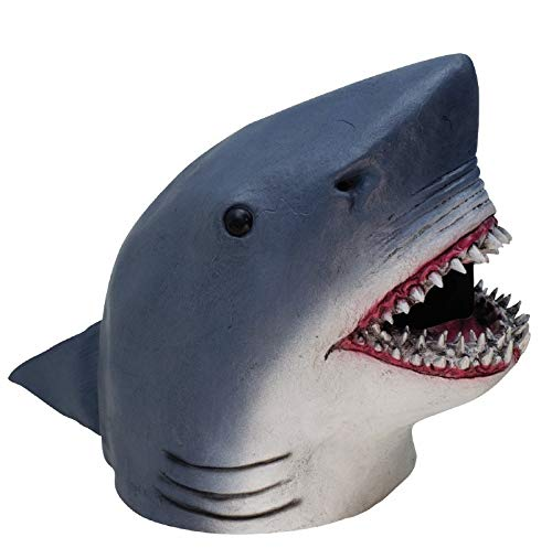 Forum Novelties Men's Latex Shark Overhead Mask