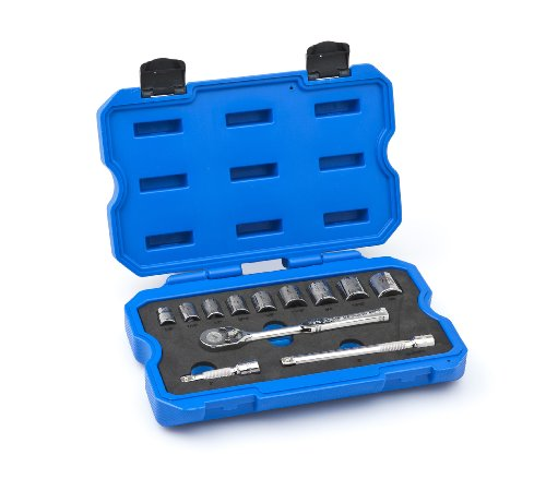 Armstrong 15-350 3/8-Inch Drive 6 Point Inch-SAE Socket Set, 12-Piece