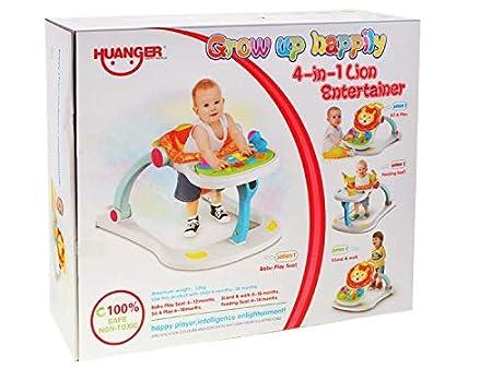 4 en 1 Andador de Bebé Interactivo - Andador Correpasillos - León ...
