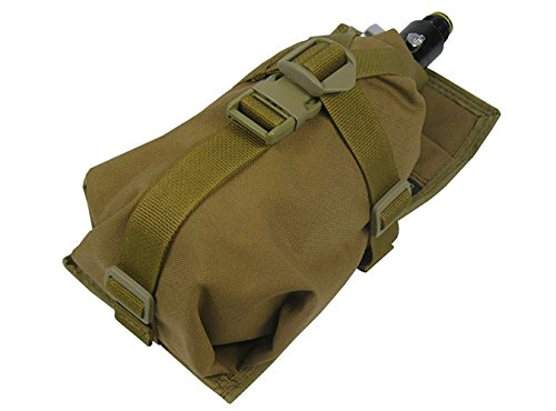 Air Tanks pouch bag M.O.L.L.E HORIZONTAL CYLINDER (0,8-1,8L) (Coyote Brown)