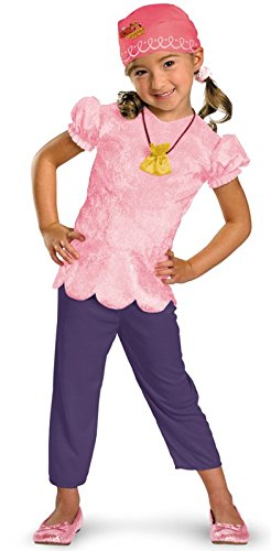 Girls Classic Izzy Costume from Disney's Jake and the Neverland Pirates -