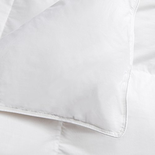 The ULTIMATE White Down Goose Alternative Comforter Duvet Insert Hypoallergenic Double Brushed for Superior Softness and Washable QUEEN 74 Oz Fill by Lavish Comforts (Image #3)