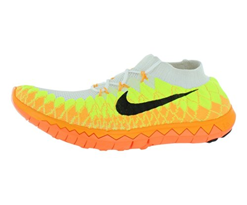 best sneakers 04f77 38c71 Nike Men s Free Flyknit 3.0 , WHITE BLACK-VOLT-LASER ORANGE, 11 M US - Buy  Online in UAE.   Apparel Products in the UAE - See Prices, Reviews and Free  ...