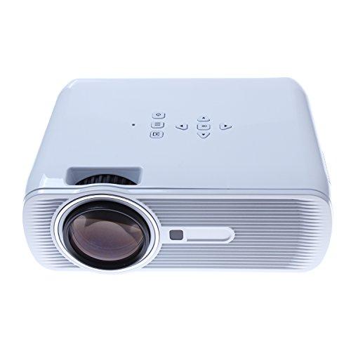 LightInTheBox Full HD 2800 Lumens Smart Projector 3LED Technology DVB-T, TV, HDMI, SD TF Card Slot, USB, VGA Port, 3-in-1 AV in, 3.5mm Stereo Jack