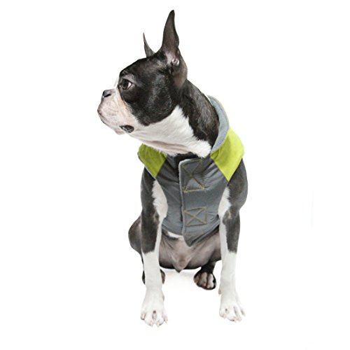 Gooby Active Trekking Dog Jacket - X-Large - Lime Green