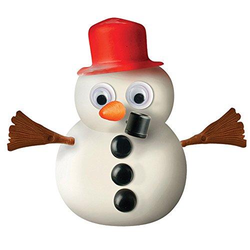 ToySmith Frosty Melting Snowman - Christmas Festive Arts & Crafts Putty Toy ()